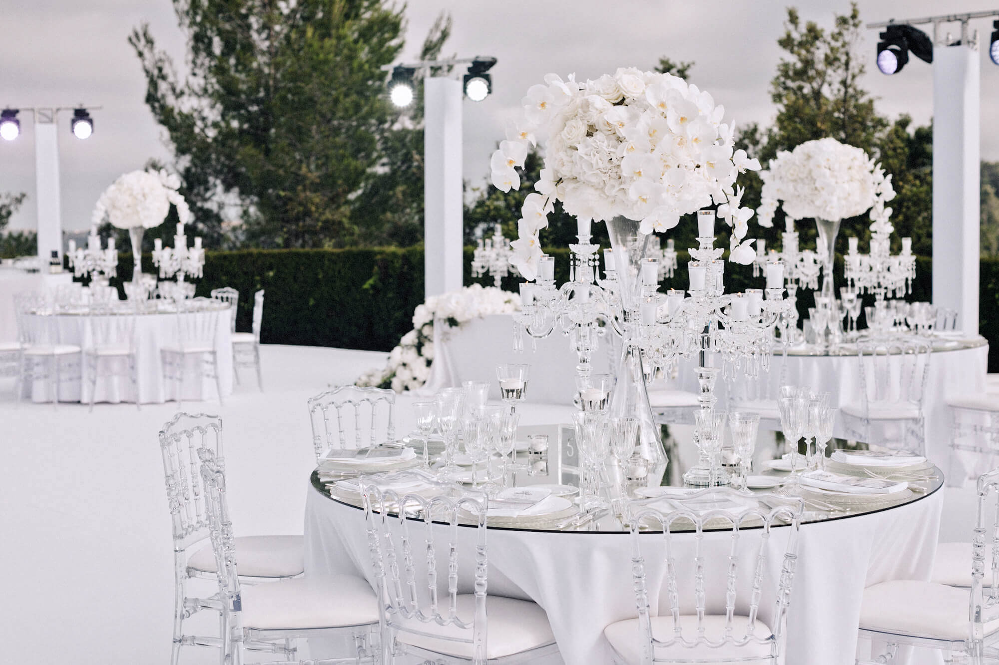 Свадебная флористика и декор стола