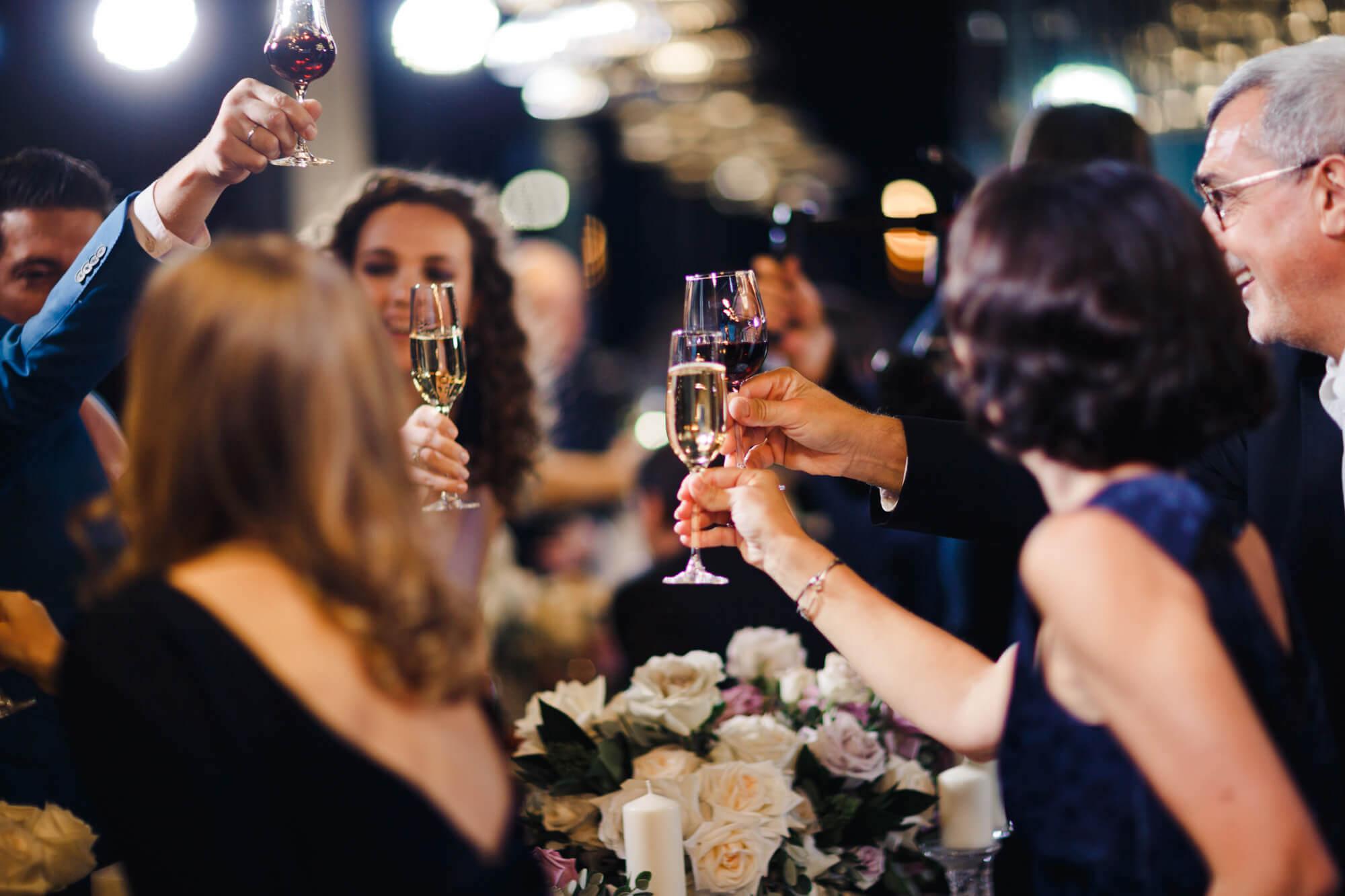 Свадьба в загородном клубе Лужки