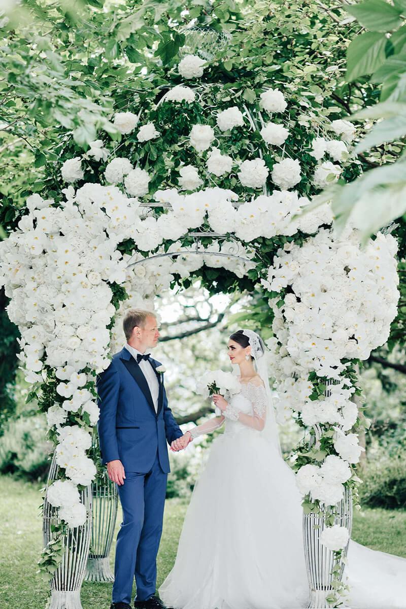 Свадьба во Франции. Свадебное агентство BM WEDDINGS & EVENTS