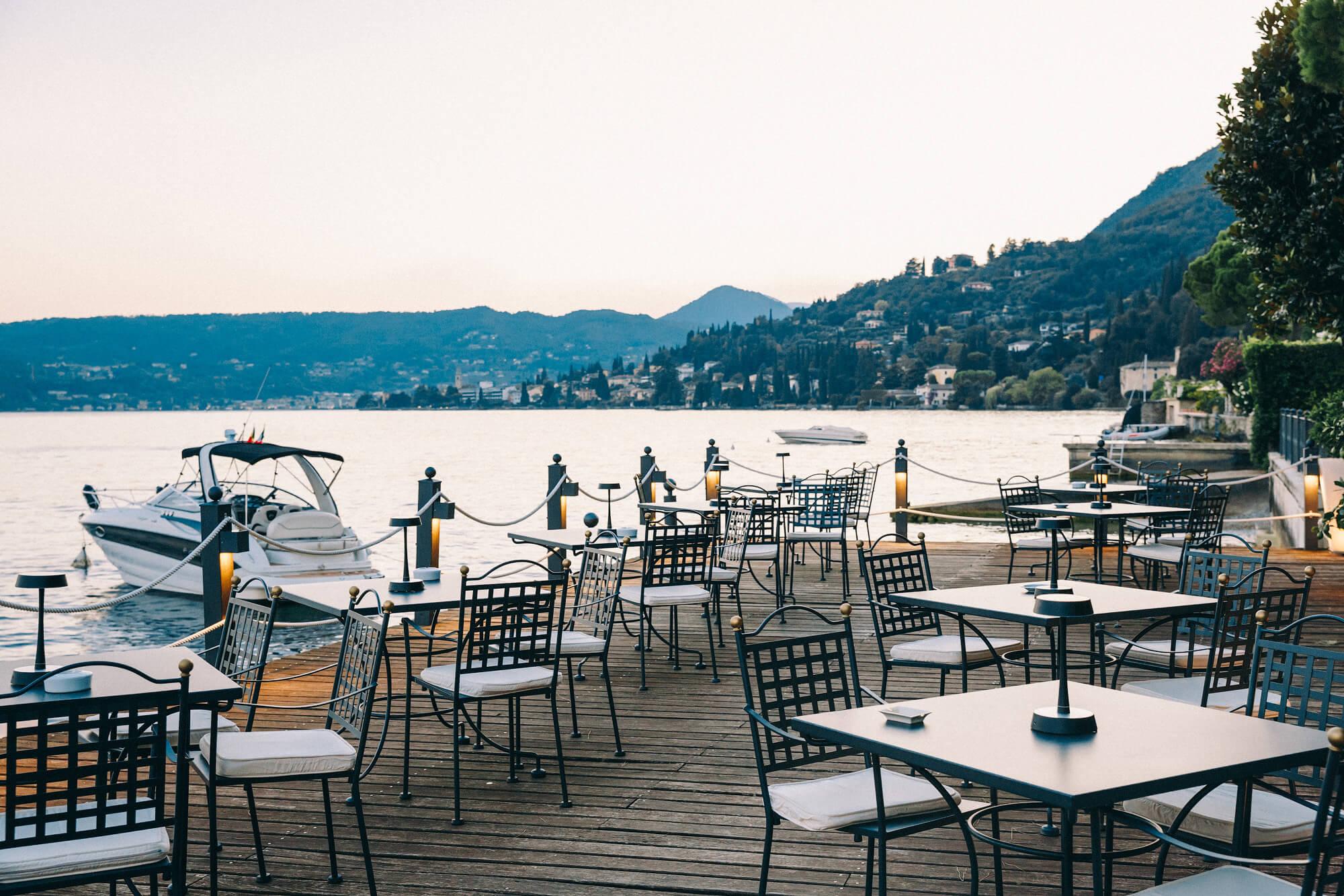 Приветственный ужин на свадьбе в Италии
