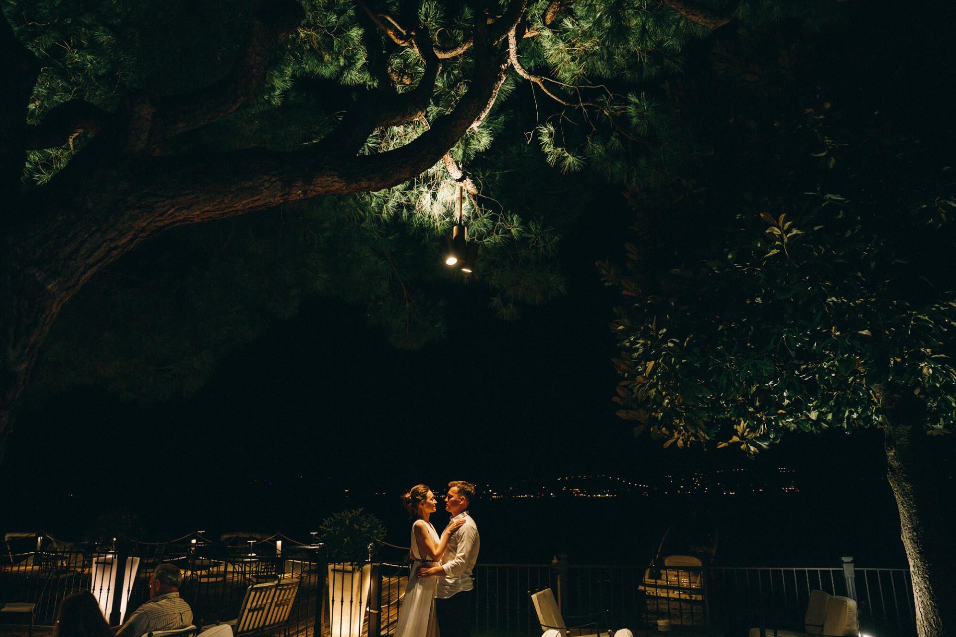 Свадьба на оз. Комо
