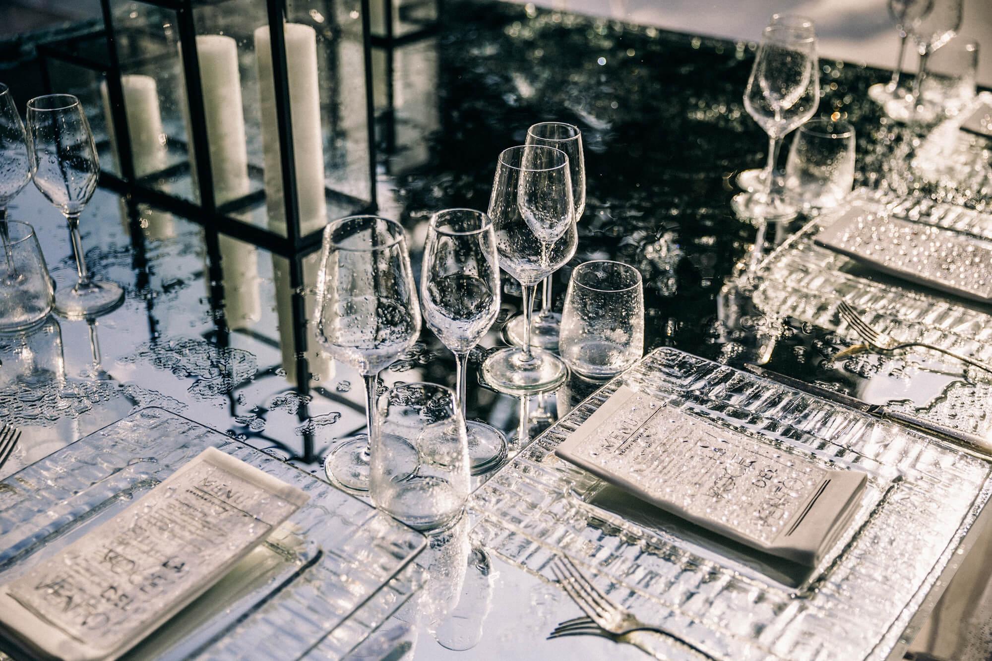 Оформление свадьбы без цветов