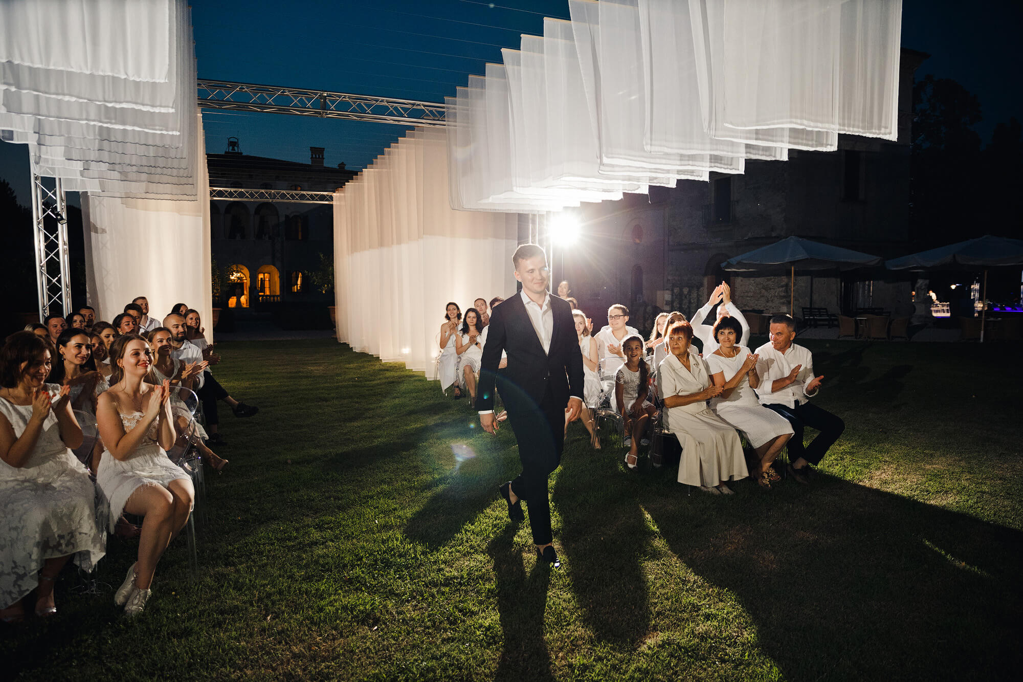 Ночная свадебная церемония