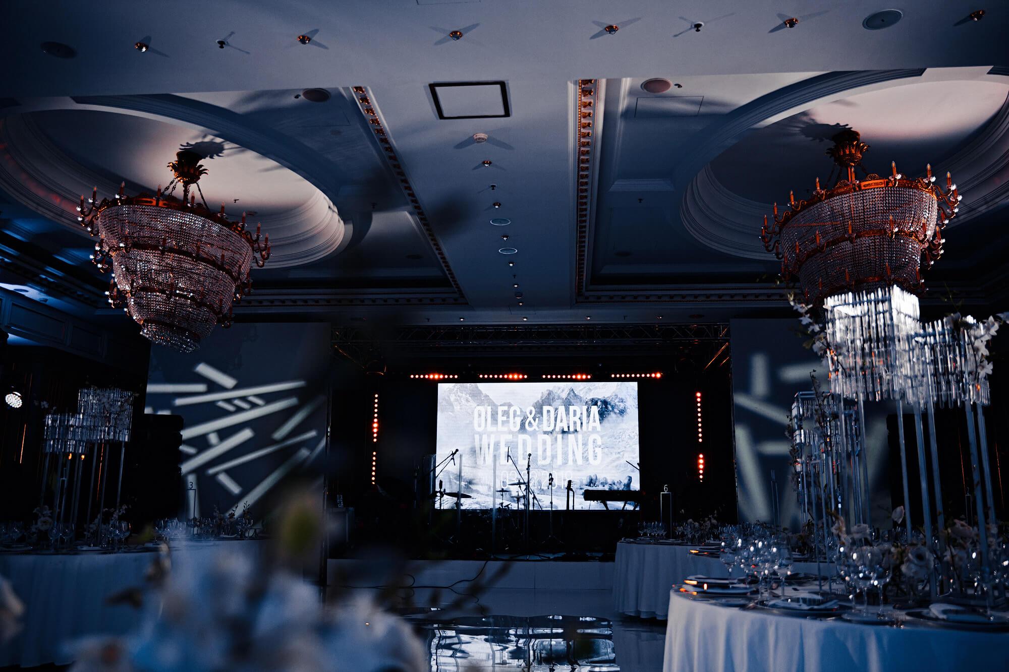 Организация свадьбы в Ритц Карлтон. BM Weddings & Events