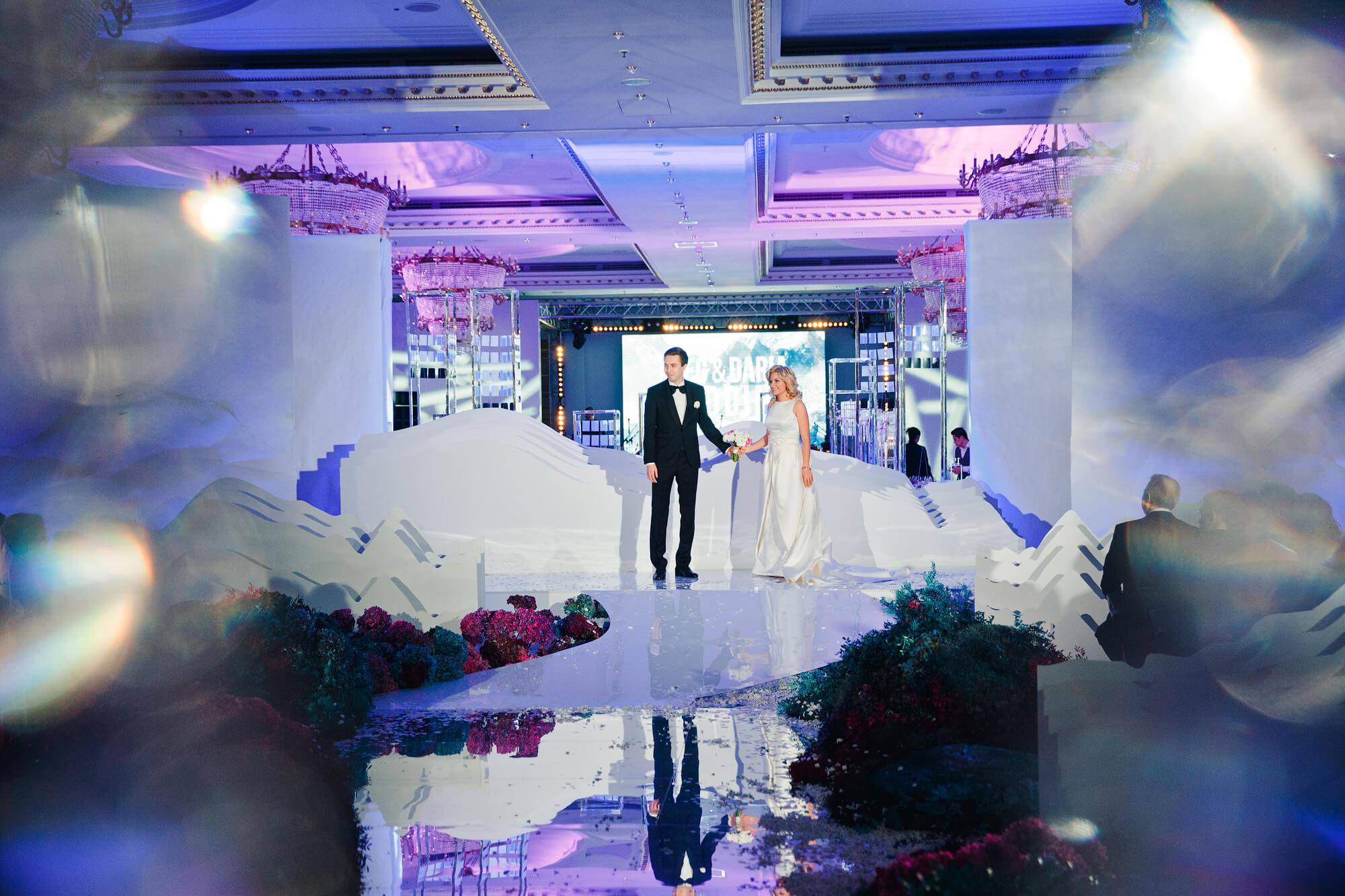 Свадебная церемония в Ритц Карлтон. Свадьбе в отеле Ритц Карлтон