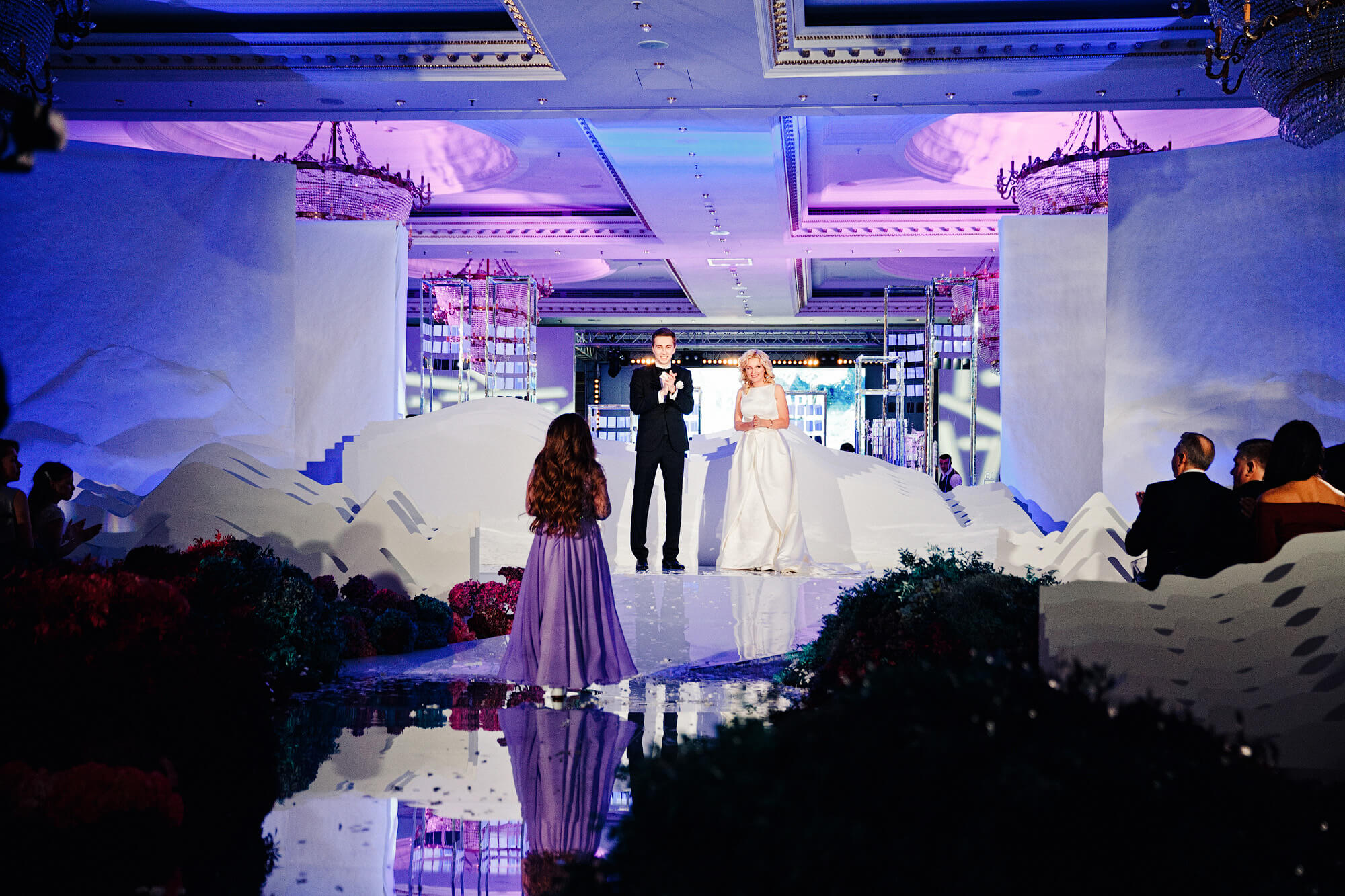 Свадебная церемония в Ритц Карлтон. BM Weddings & Events