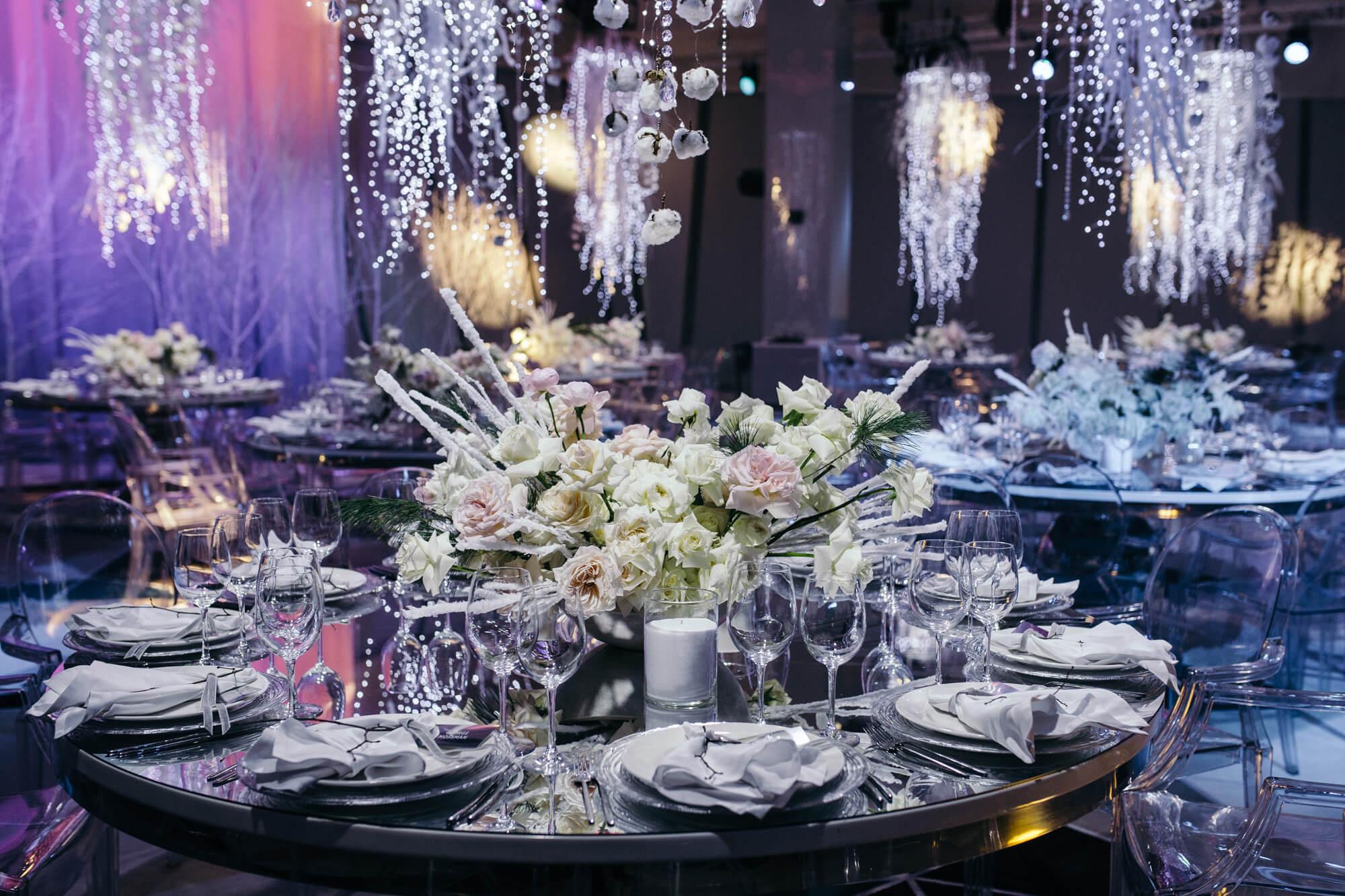Цветочные композиции на свадьбу. Свадебное агентство BM WEDDINGS & EVENTS