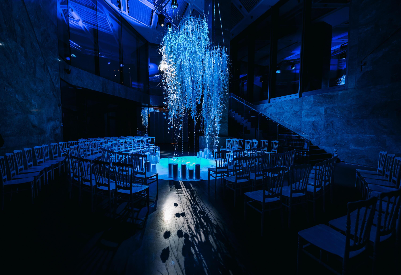 Ночная свадебная церемония. Свадебное агентство BM WEDDINGS & EVENTS