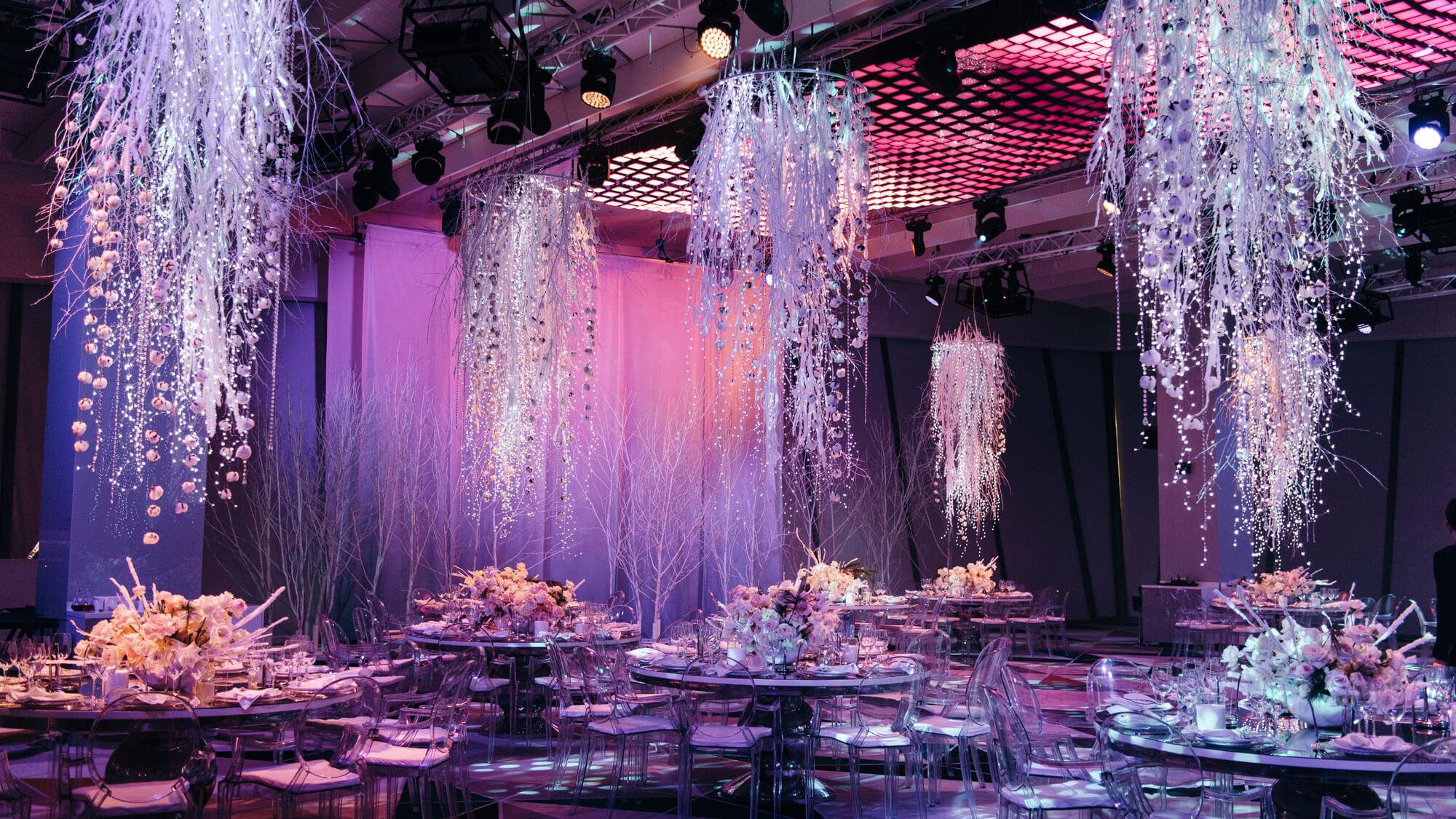Оформление свадьбы в ORION HALL. Свадебное агентство BM WEDDINGS & EVENTS