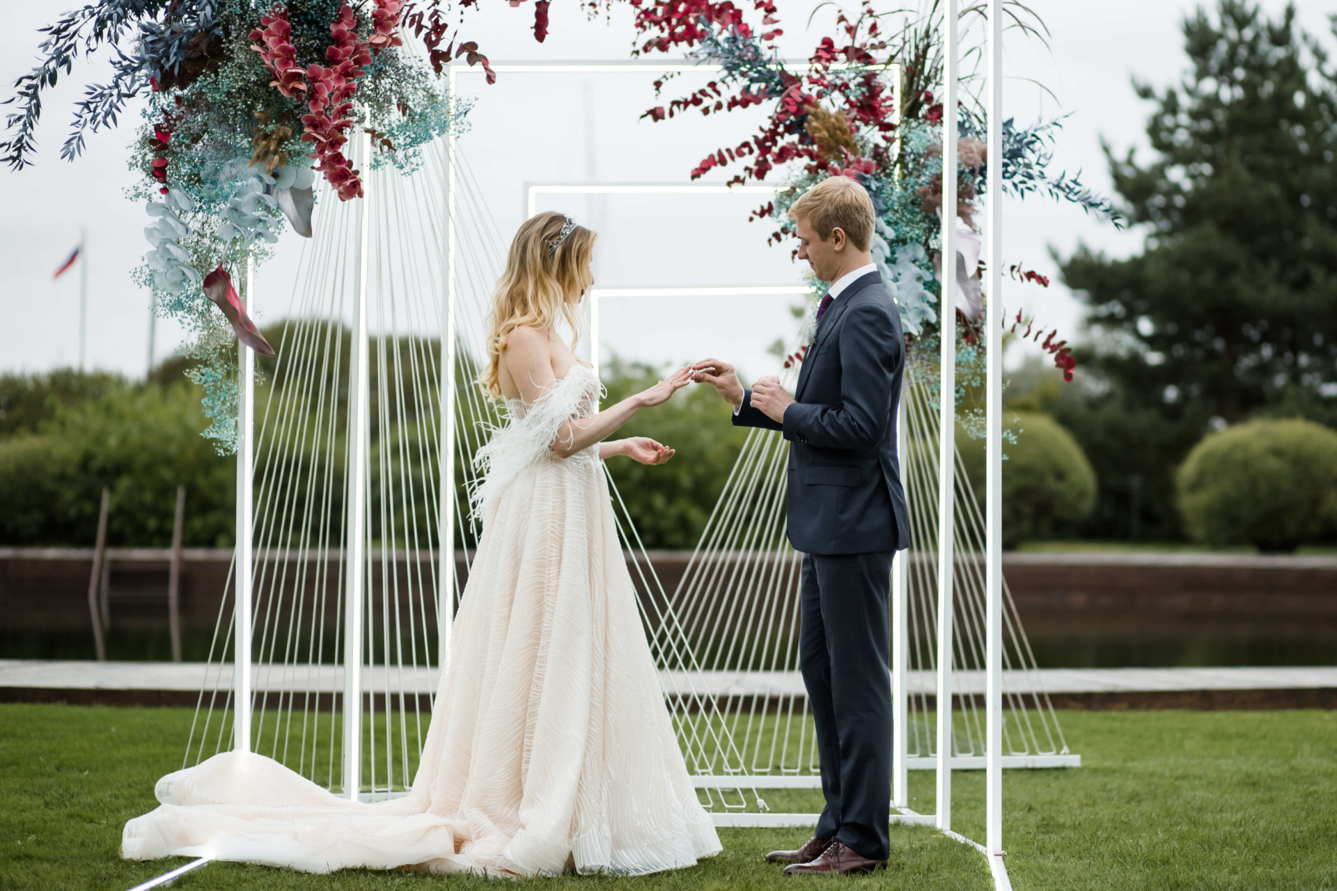 Свадьба под ключ в питере цены